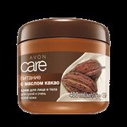 40250 Крем для лица и тела с маслом какао «Питание», 400 мл