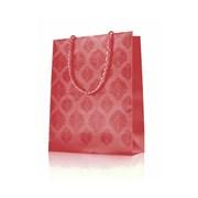 10475 Подарочный пакет. Цвет: розово-золотистый