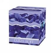 BE-042-K080-003 Платочки Косметические 80 шт. голубые лепестки