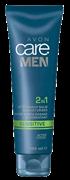 60671 Комплексное ср-во для лица  Мягкий уход  2 в 1 бальзам после бритья и увлажняющий крем 100 мл