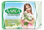 СВ-10608 Мыло детское  АЛИСА  с экстр-м тысячелистника для нежной и чувств-ой кожи 150г