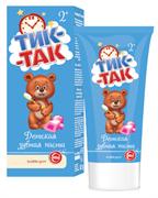 СВ-41896 Детская зубная паста  ТИК-ТАК  Bubble gum 2+ 62гр