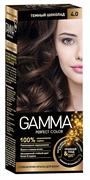 СВ-71384 Стойкая крем-краска GAMMA PERFECT COLOR тон 4.0 Темный шоколад