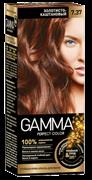 СВ-71445 Стойкая крем-краска GAMMA PERFECT COLOR тон 7.37 Золотисто-каштановый