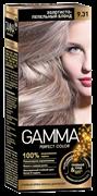 СВ-71483 Стойкая крем-краска GAMMA PERFECT COLOR тон 9.31 Золотисто-пепельный блонд