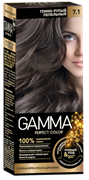 СВ-71551 Стойкая крем-краска GAMMA PERFECT COLOR тон 6.0 Темно-русый пепельный