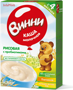 НТ-0464 Винни каша молочная рисовая 200 гр.