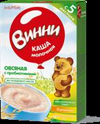 НТ-0465 Винни каша молочная овсянная 200 гр.
