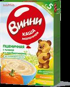 НТ-0468 Винни каша молочная пшеничная с тыквой 200 гр.