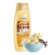 64046 Увлажняющий крем-гель для душа с ароматом ванильного мороженого  Сладкие удовольствия  500 м