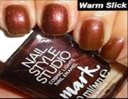 89383 Лак для ногтей Дизайн-студия Звездн небо WARM SLICK 10 мл