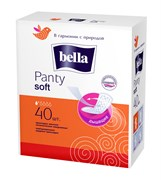 BE-021-RN40-005 Bella Panty Soft  40 белая линия