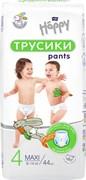 BB-055-LU44-001 Подгузники-трусики Bella Baby Happy Pants Maxi 44