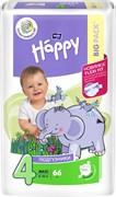 BB-054-LU66-011 Подгузники для детей Bella Baby Happy Maxi 66