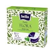 BE-021-RZ70-007 Bella Panty Flora Green tea 70
