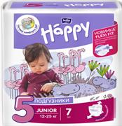 BB-054-JU07-004 Подгузники  для детей Bella Baby Happy Junior 7 шт