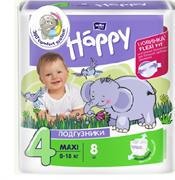 BB-054-LU08-004 Подгузники  для детей Bella Baby Happy Maxi 8 шт.
