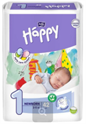 BB-054-MU42-013 Подгузники для детей марки Bella Baby Happy Newborn 42 шт